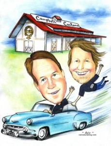 custom caricature for fathers day