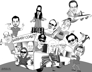 george group caricature