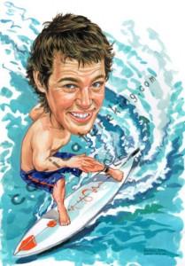 surf board rider