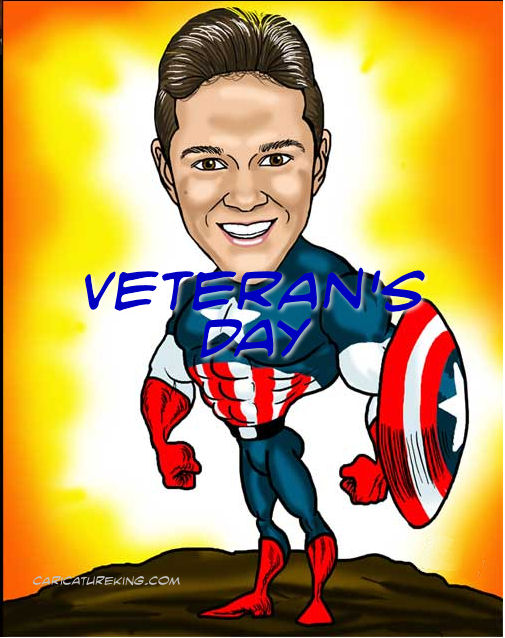 Veteran's caricature