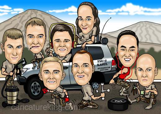 army-group-caricature