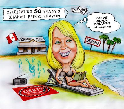 50 years of sharon being sharon - gift for her (59K)