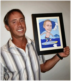 Personalized Gifts From Caricature King Customer Pictures
