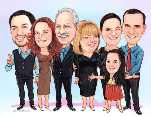 extended-family2-caricatured