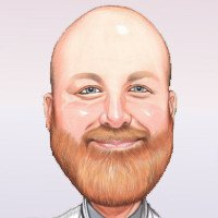 caricature sample for artist Harry who loves doing retirement gift caricatures(11K)