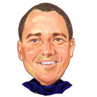 caricature sample for artist John who loves doing retirement gift caricatures(11K)