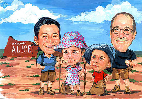 family-caricature (60K)