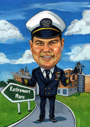 navy officer retirement