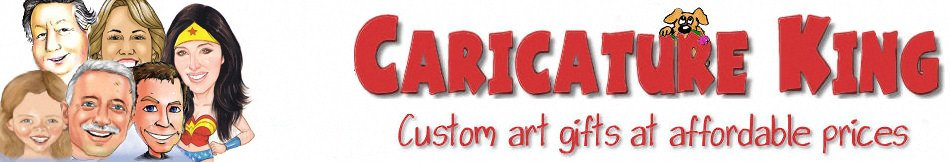 caricature art framing